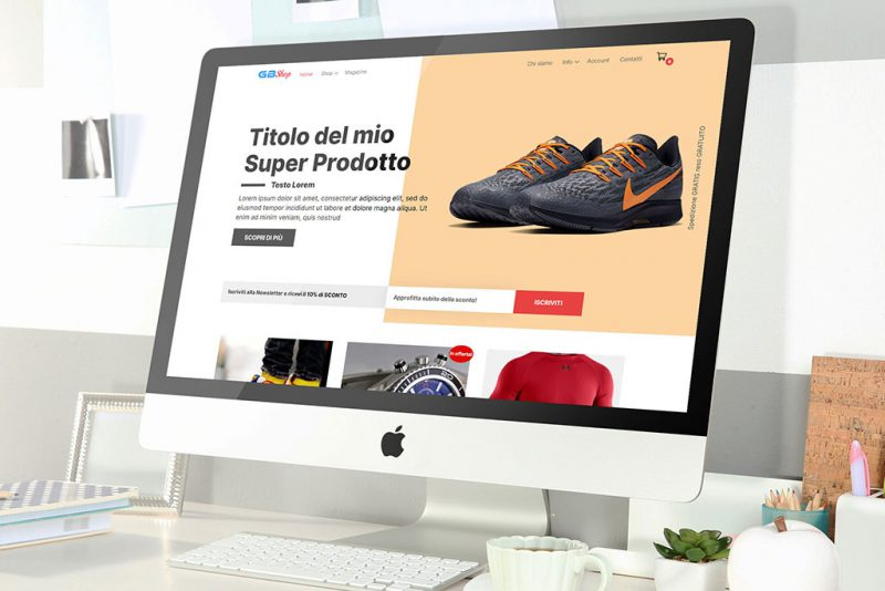 E-commerce Custom GBSHOP